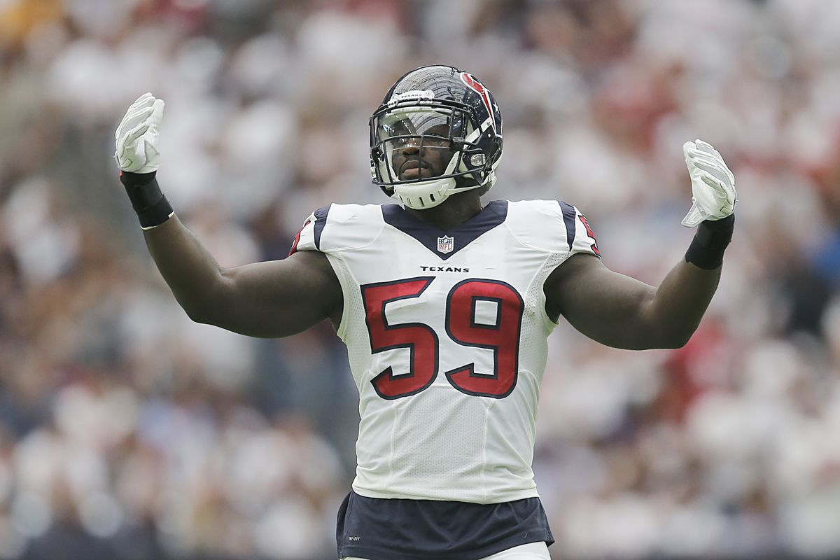 Houston Texans Injury News Whitney Mercilus Out For Jaguars Game