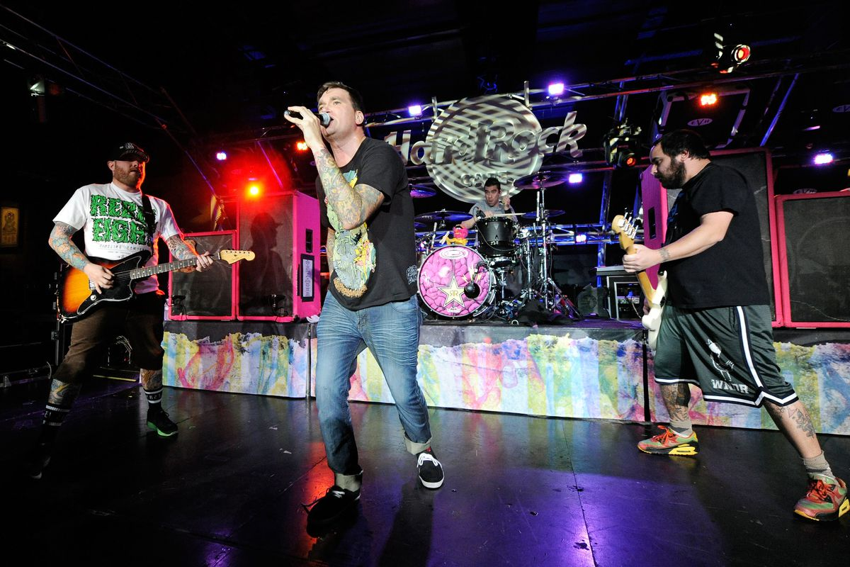 New Found Glory Performs At The Hard Rock Cafe On The Strip In Las Vegas