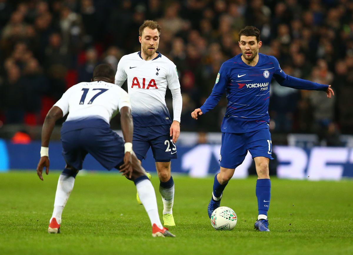 Tottenham Hotspur v Chelsea - Carabao Cup Semi- Final 1st Leg