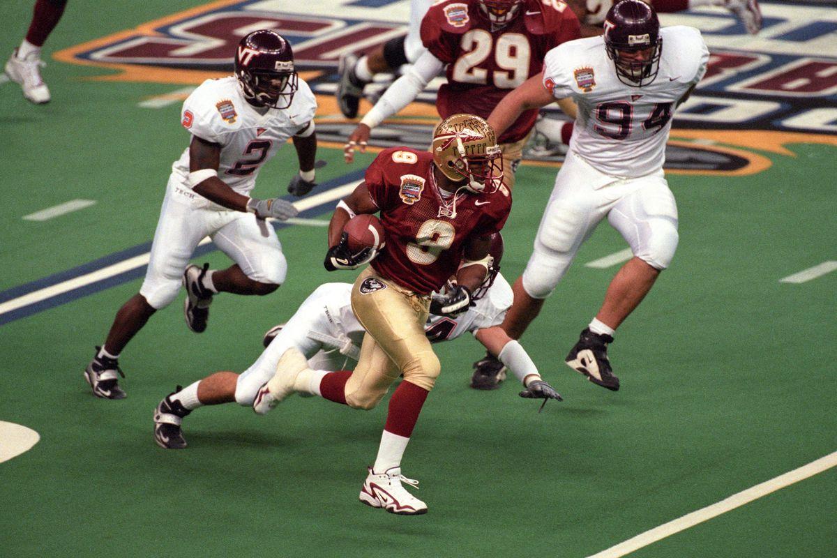 Florida State University vs Virginia Tech, 2000 Nokia Sugar Bowl