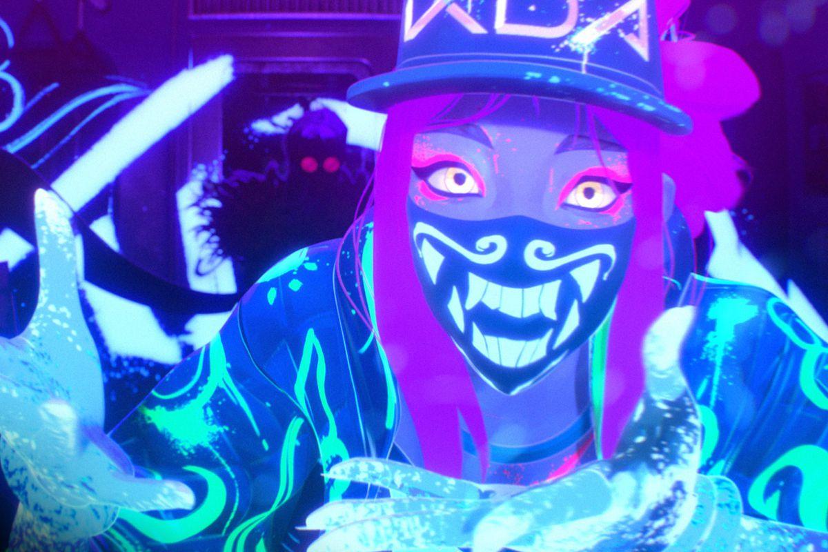 K/DA Akali is going to get a neon update - The Rift Herald