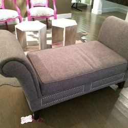 Chaise lounge soda, $200