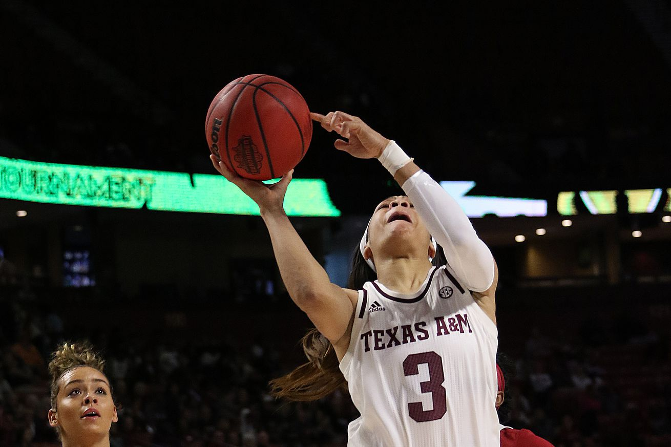 COLLEGE BASKETBALL: MAR 05 SEC Women's Tournament - Arkansas vs Texas A&M
