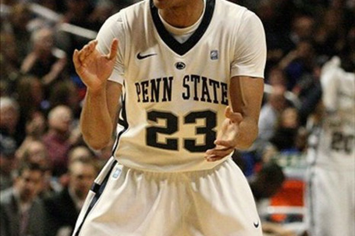 Tim Frazier will be key in the success of Penn State's season.  Mandatory Credit: Rob Christy-US PRESSWIRE