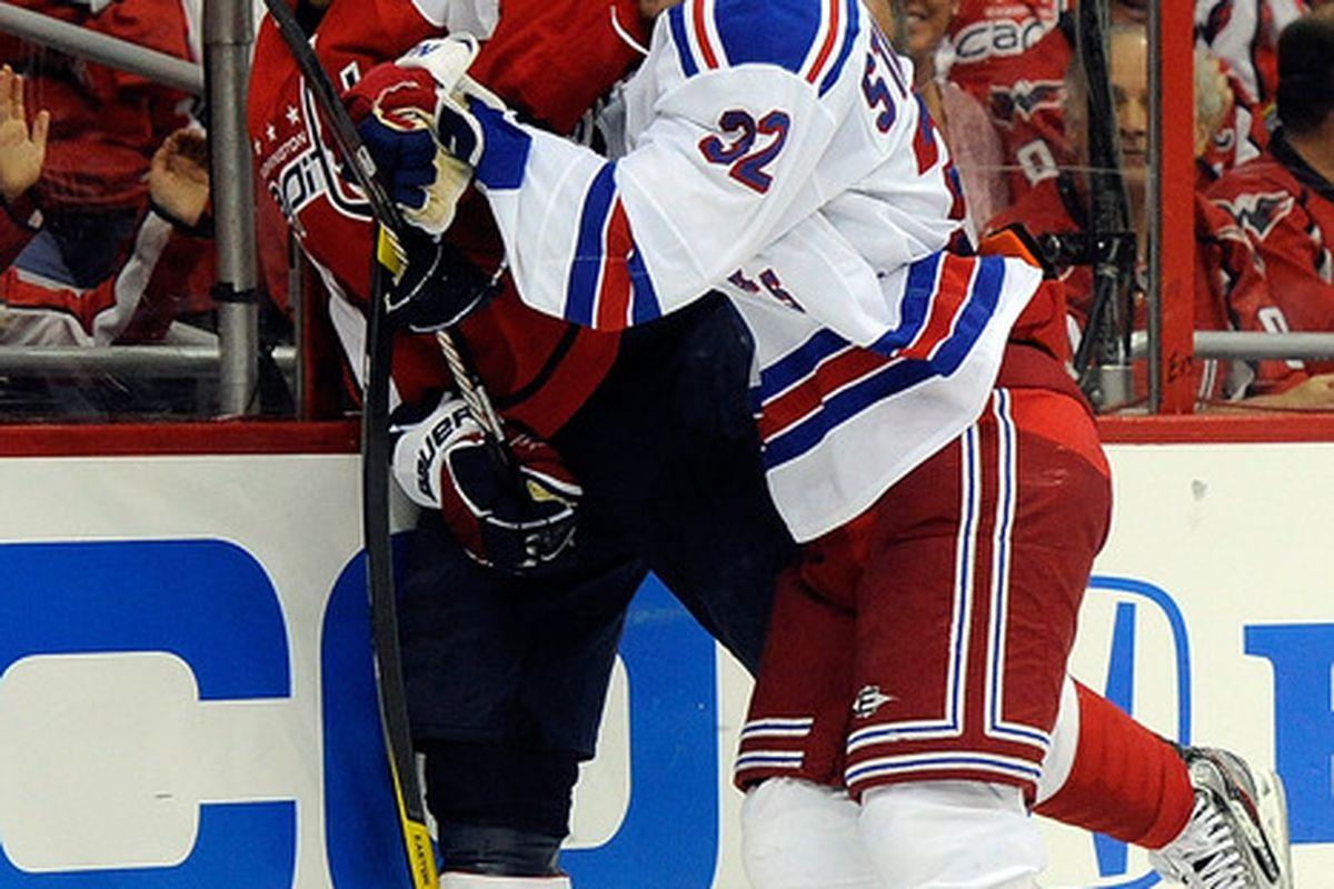 Stralman smash! (Photo by Patrick McDermott/Getty Images)