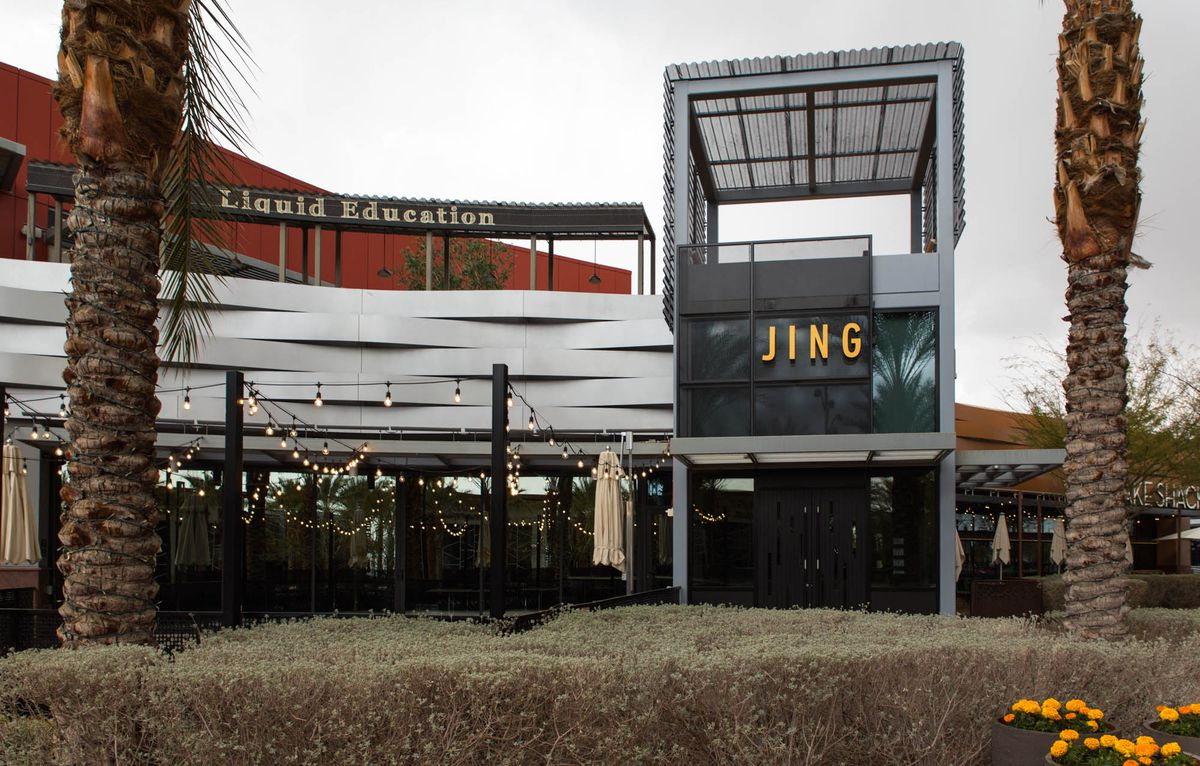 The Japanese restaurant Jing opened in late January in Downtown Summerlin and stayed open a short while before opting to close while nonessential business, including restaurants, are ordered to close.