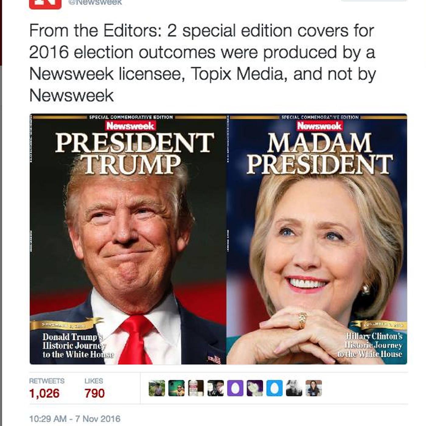 Newsweek, People magazine feeling the heat of election