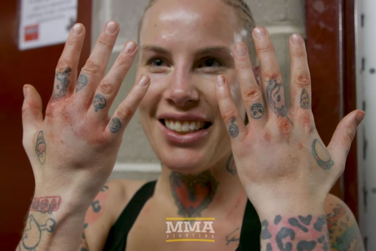 Rawlings ready to bare knuckle box again     if her hands