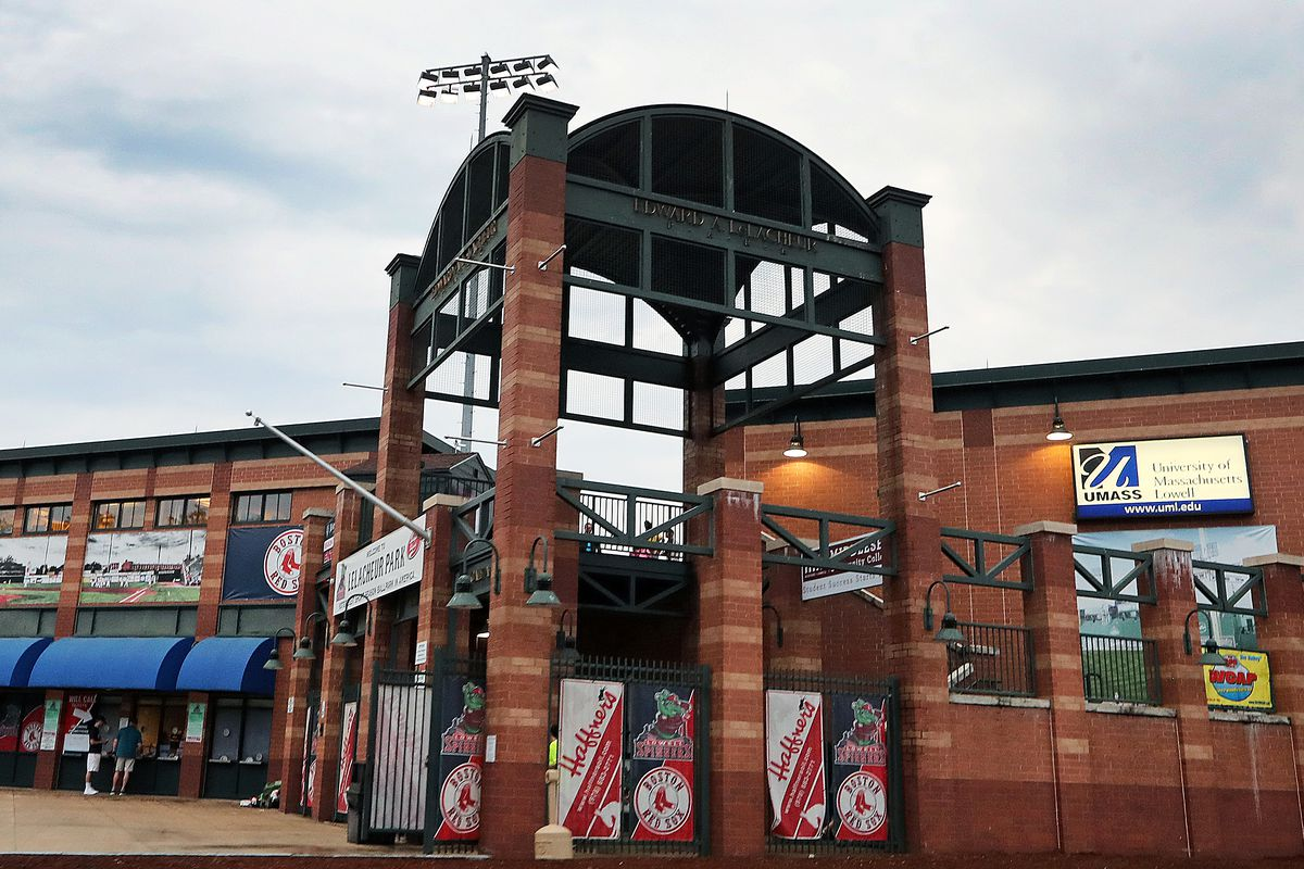 Home Opener For Lowell Spinners