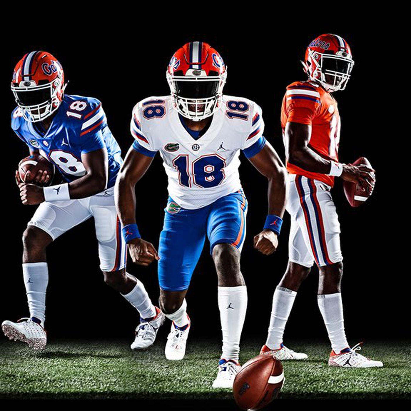5af8be87eaa Florida unveils Jordan Brand uniforms