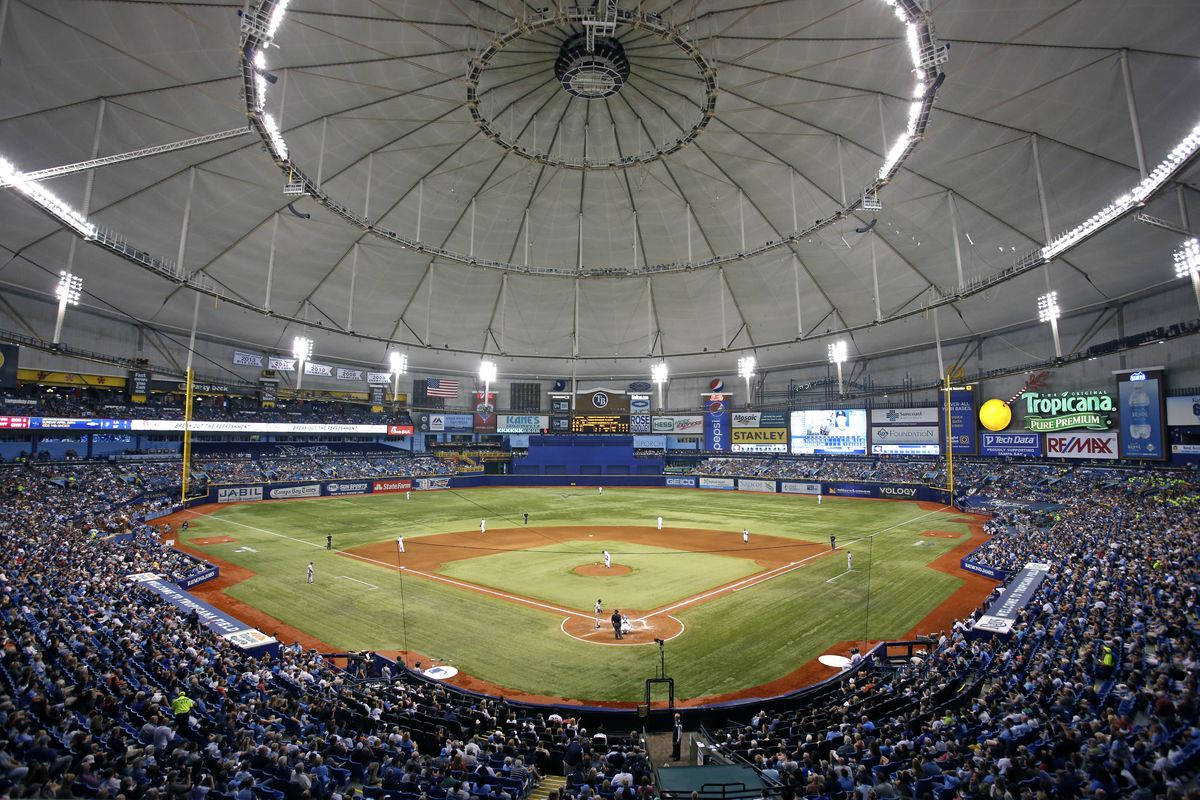 Tampa bay rays officially announce plans to move the team to tampa photo by brian blancogetty images malvernweather Image collections
