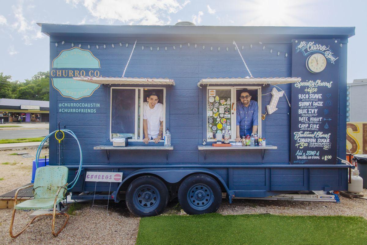 Churro Co. food trailer