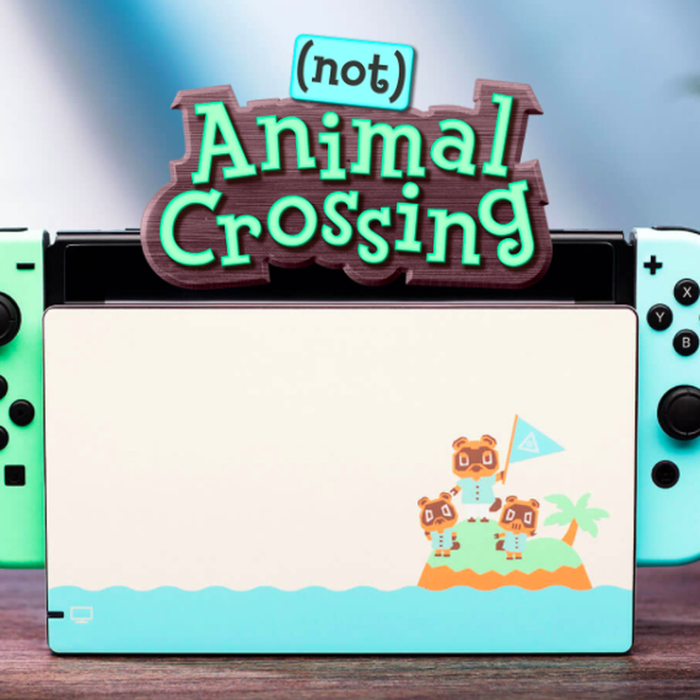 animal crossing switch dock skin