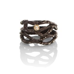 """<a href=""""http://www.stoneandstrand.com/rings/twig-wrap-ring"""">Twig Wrap Ring</a>, $220"""