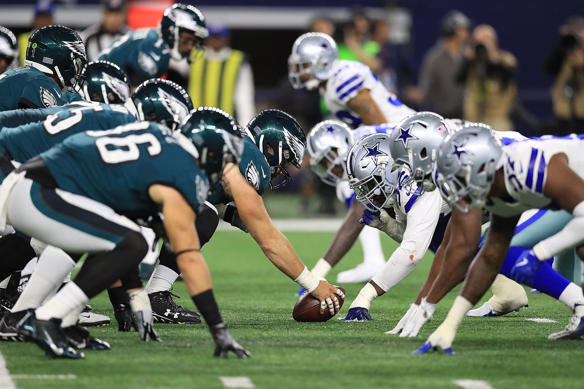 Image result for cowboys vs eagles