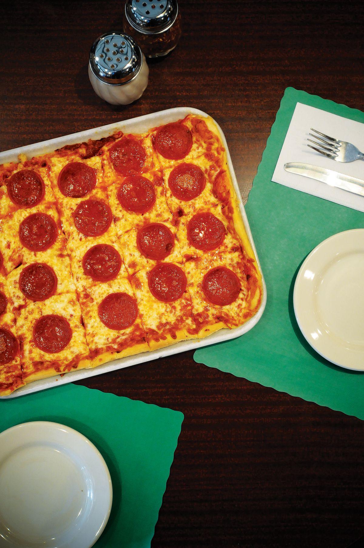 FILE PHOTO 2010 - Ledo Pizza has many restaurants across Maryla