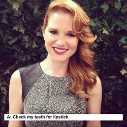 Sarah Drew, <i>Grey's Anatomy</i> star.