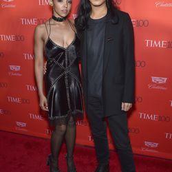 Tinashe wears Alexander Wang.