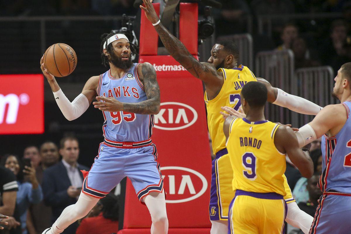 Trae Young Atlanta Hawks Outlast Lebron James Lakers In
