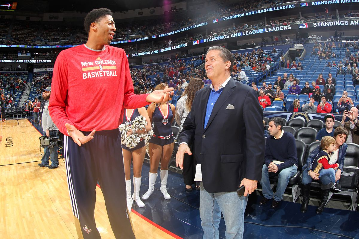 For As Long Anthony Davis Remains The Kentucky Connection Will Location It Is Tradition That A Kentuckian Never Runs He Does Nbae Getty Images