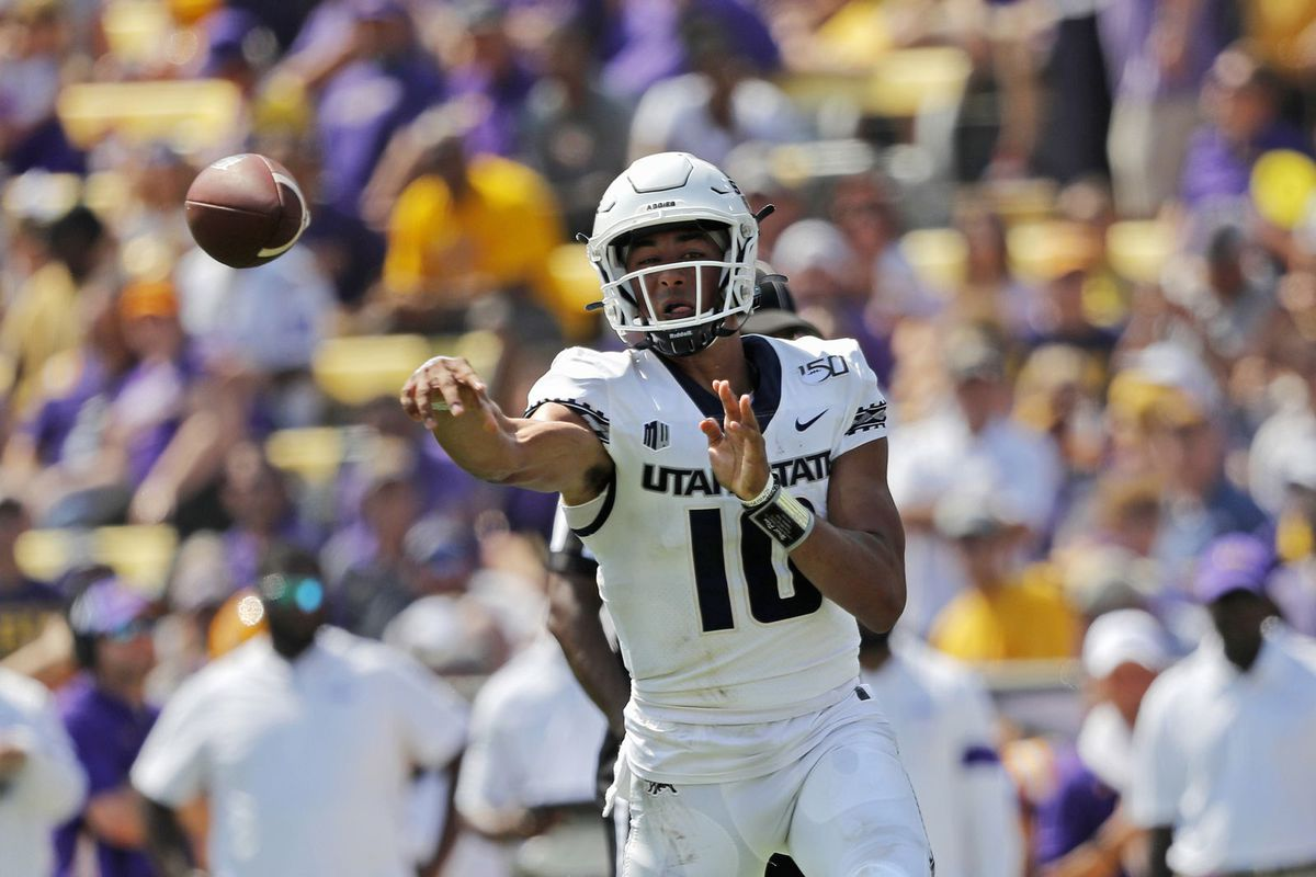 Where the latest NFL draft projections place Utah State ...