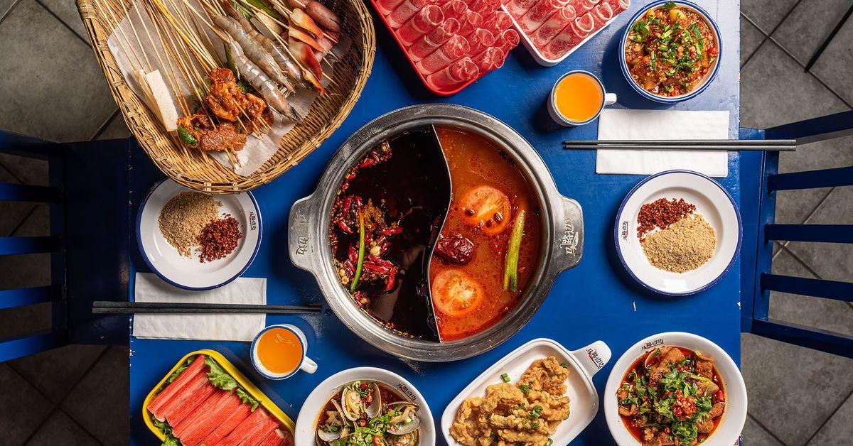 A beloved Chengdu chain brings Sichuan skewer hot pot to Los Angeles