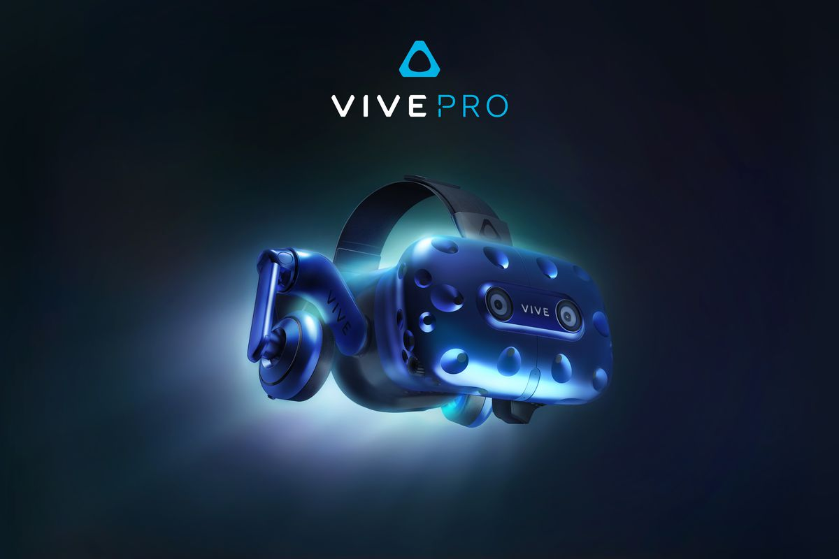 HTC teases high-resolution Vive VR headset headed to CES 2018
