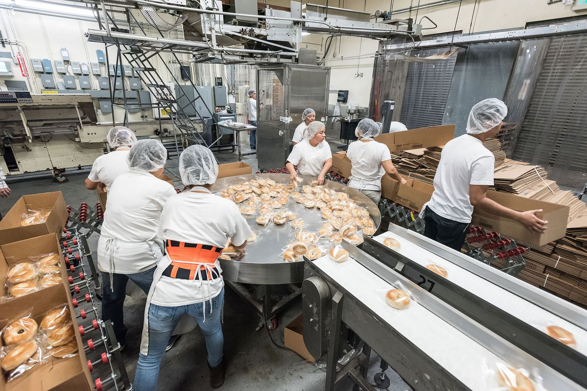 Witness the Greatness of LA's Oldest Bagel Factory - Eater LA