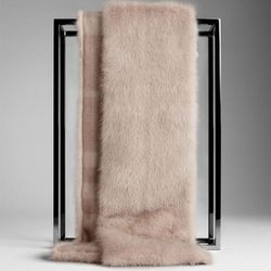 "<b>Burberry</b> Mink Fur Stole, <a href=""http://us.burberry.com/store/womens-accessories/scarves/fur/prod-38732391-mink-fur-stole/?search=true"">$3,295</a>"