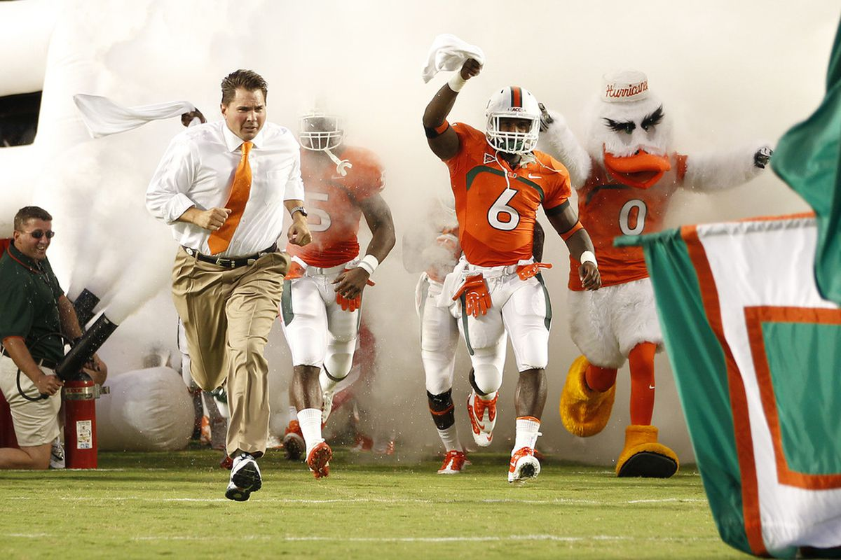 Al Golden will run through the smoke many more times as the coach of the Hurricanes