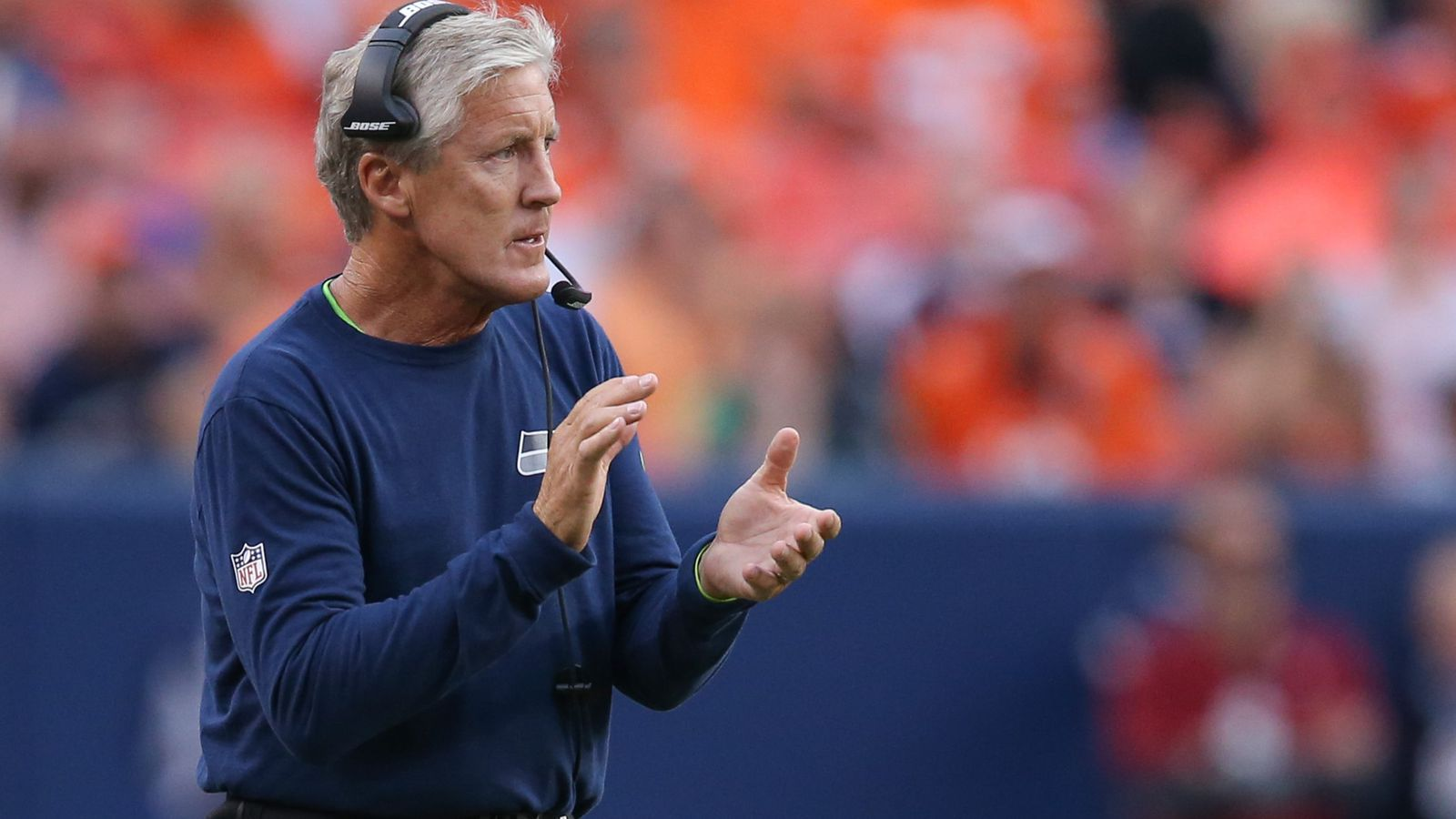 Seahawks Vs Chargers Pete Carroll Darrell Bevell