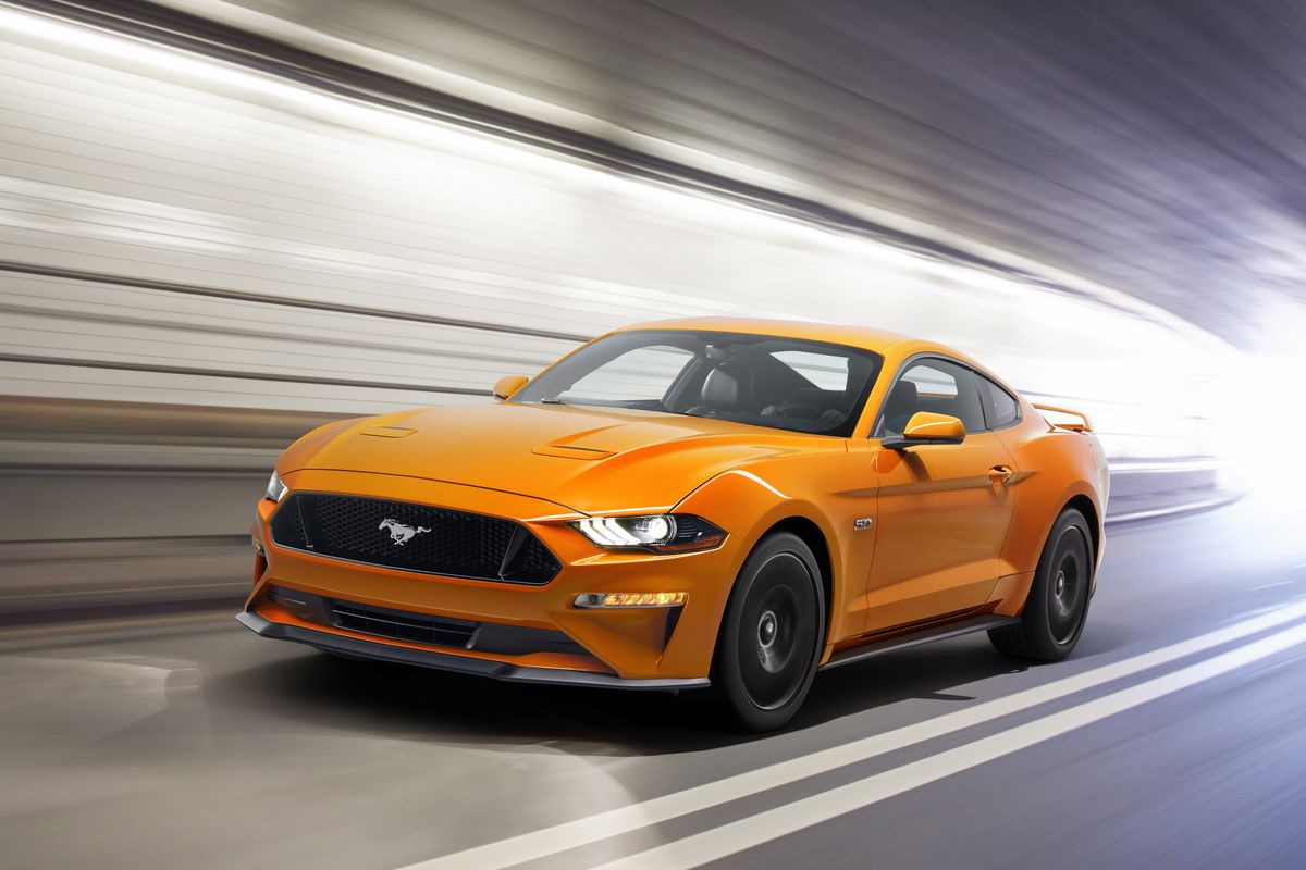 Fords newest mustang drops the v6 engine for the first time in decades