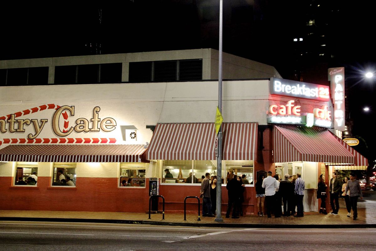 The Original Pantry Cafe in Downtown, Los Angeles