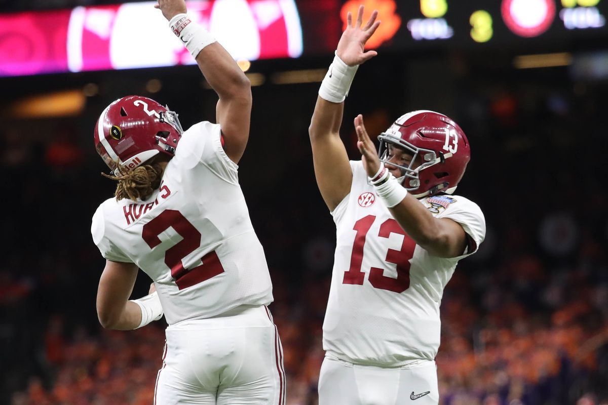Tua Tagovailoa vs. Jalen Hurts  How Bama can get creative - SBNation.com bc398d975