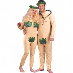 Adam and Eve: A perfect look for people who are shy about being naked but not shy about wearing one-piece flesh-toned bodysuits.