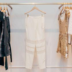 Sheer-Paneled Pants, $340