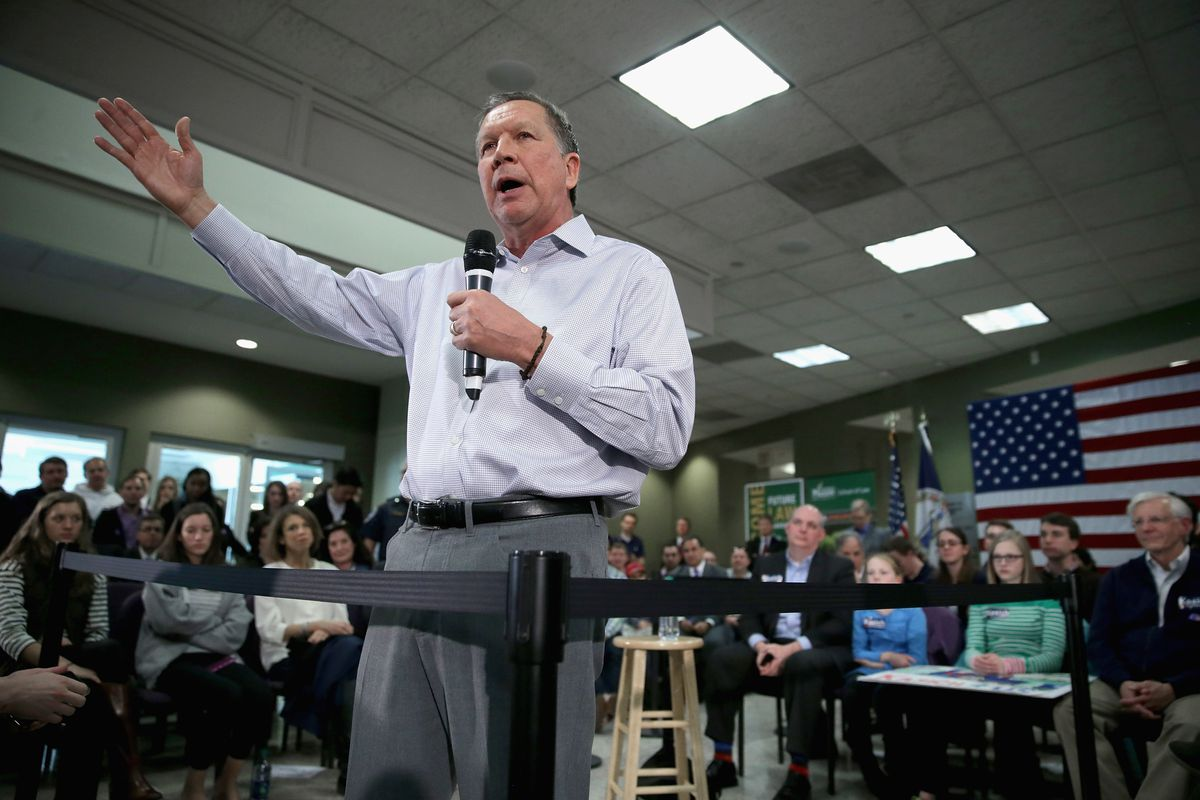 John Kasich Holds Campaign Rally In VA On Super Tuesday