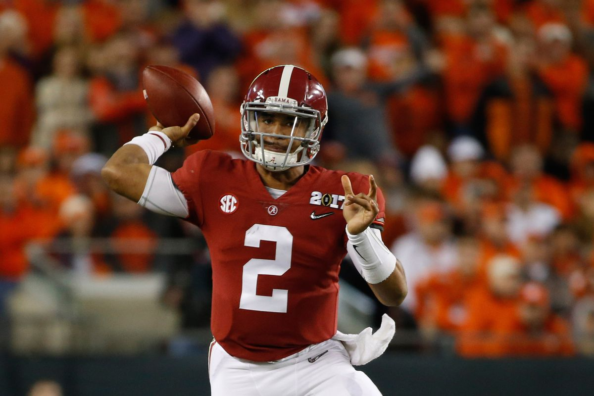 pretty nice f98f7 1153a Jumbo Package: Could Jalen Hurts Succeed in a Classic ...
