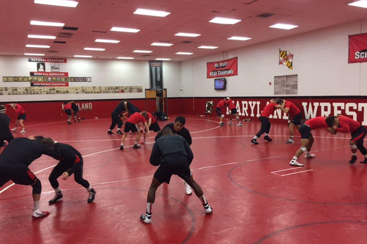 Maryland wrestling