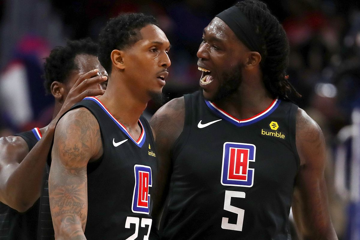 Montrezl Are 3 and Finalists Harrell for  Lou Top Williams