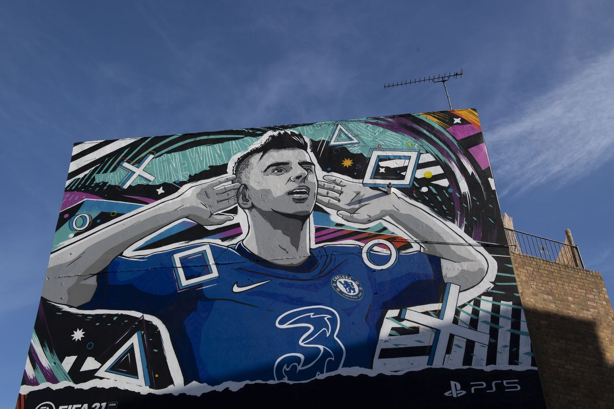 EA Sports Unveil Murals Of Young Stars Across The UK