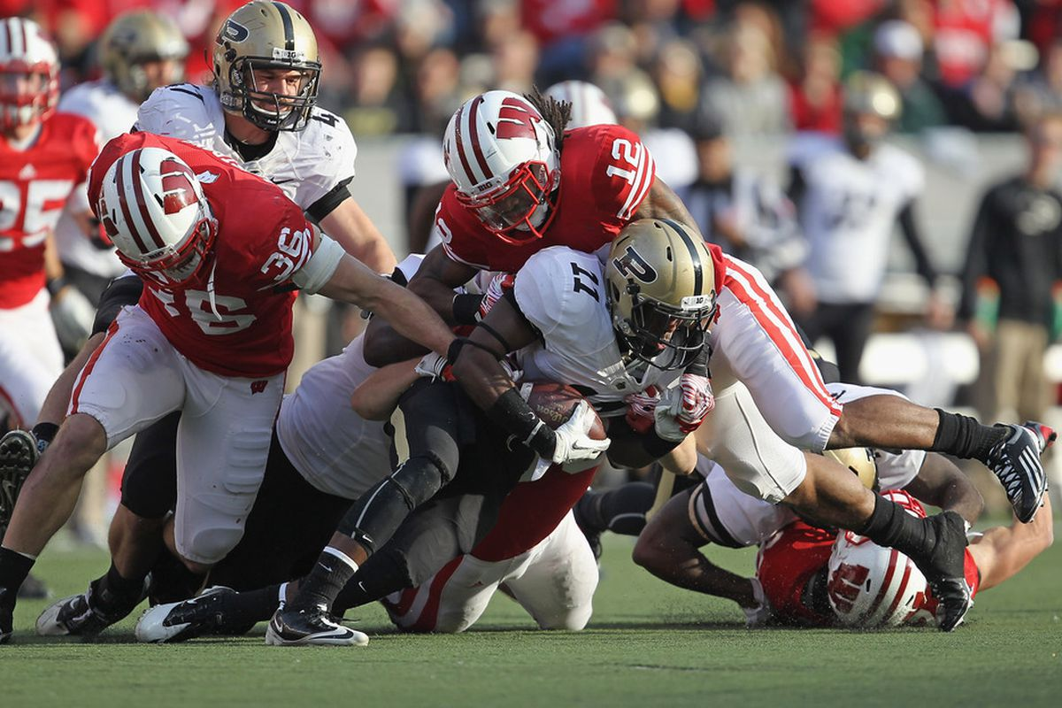 After competing with each other for playing time for two years, Shelton Johnson and Dezmen Southward (above) have a chance to be a special combination for Wisconsin this fall.