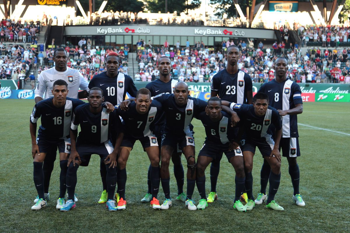 Ian Gaynair (#7), one of three Belize players that were offered cash to fix their match against the USA.