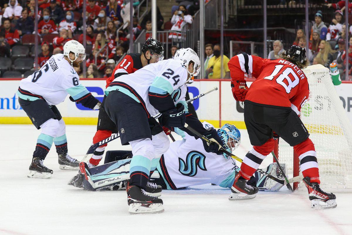 NHL: Seattle Kraken at New Jersey Devils