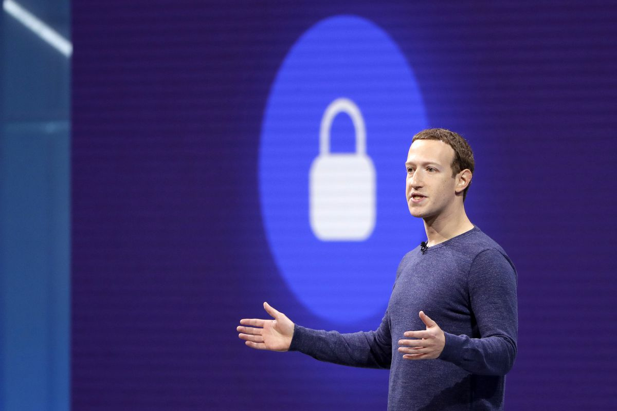 FILE- In this May 1, 2018, file photo, Facebook CEO Mark Zuckerberg makes the keynote speech at F8, Facebook's developer conference in San Jose, Calif. Facebook says it recently discovered a security breach affecting nearly 50 million user accounts. In a