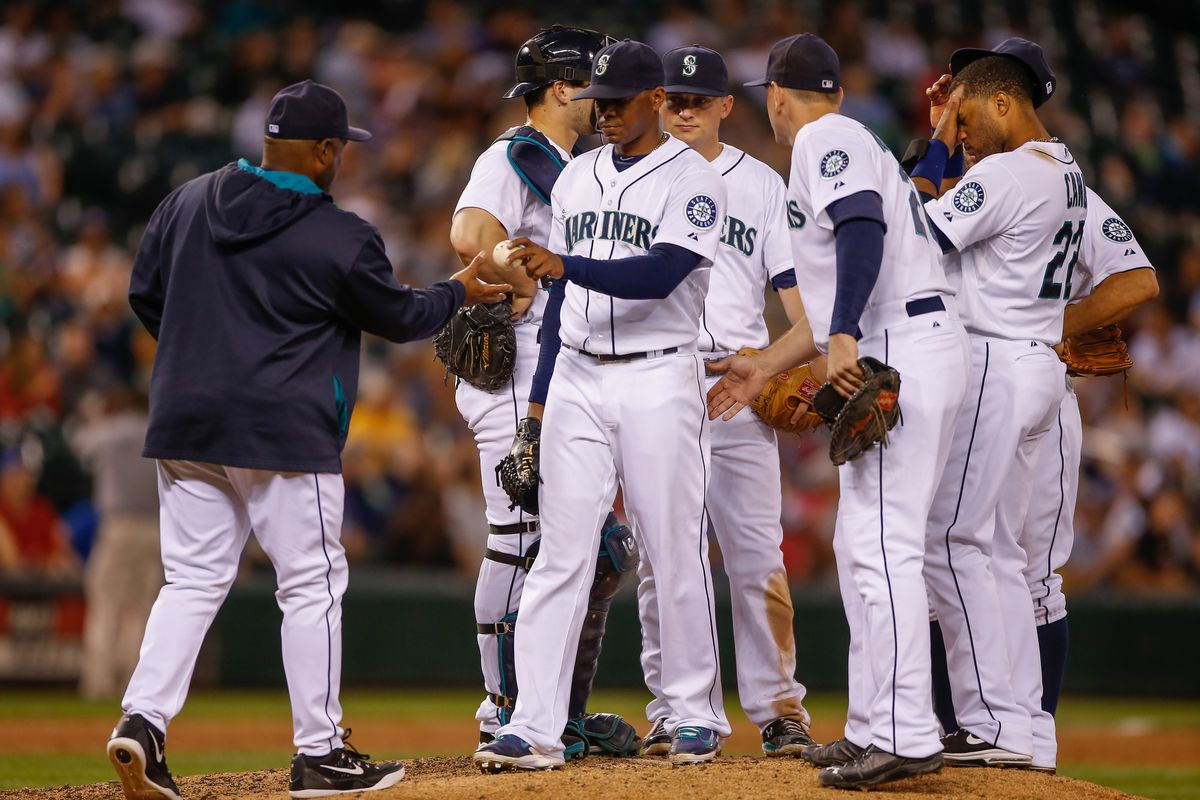 Mariners re-enacting the last supper