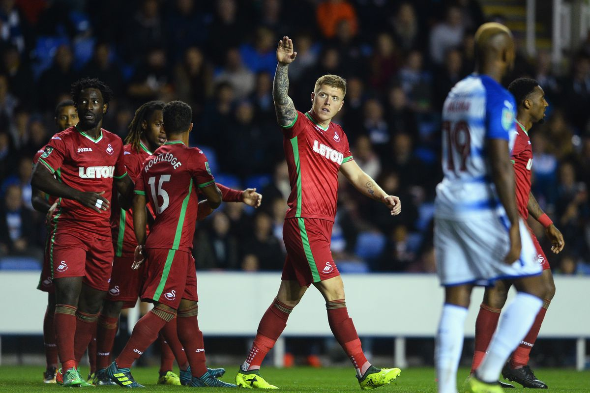 Reading v Swansea City - Carabao Cup Third Round