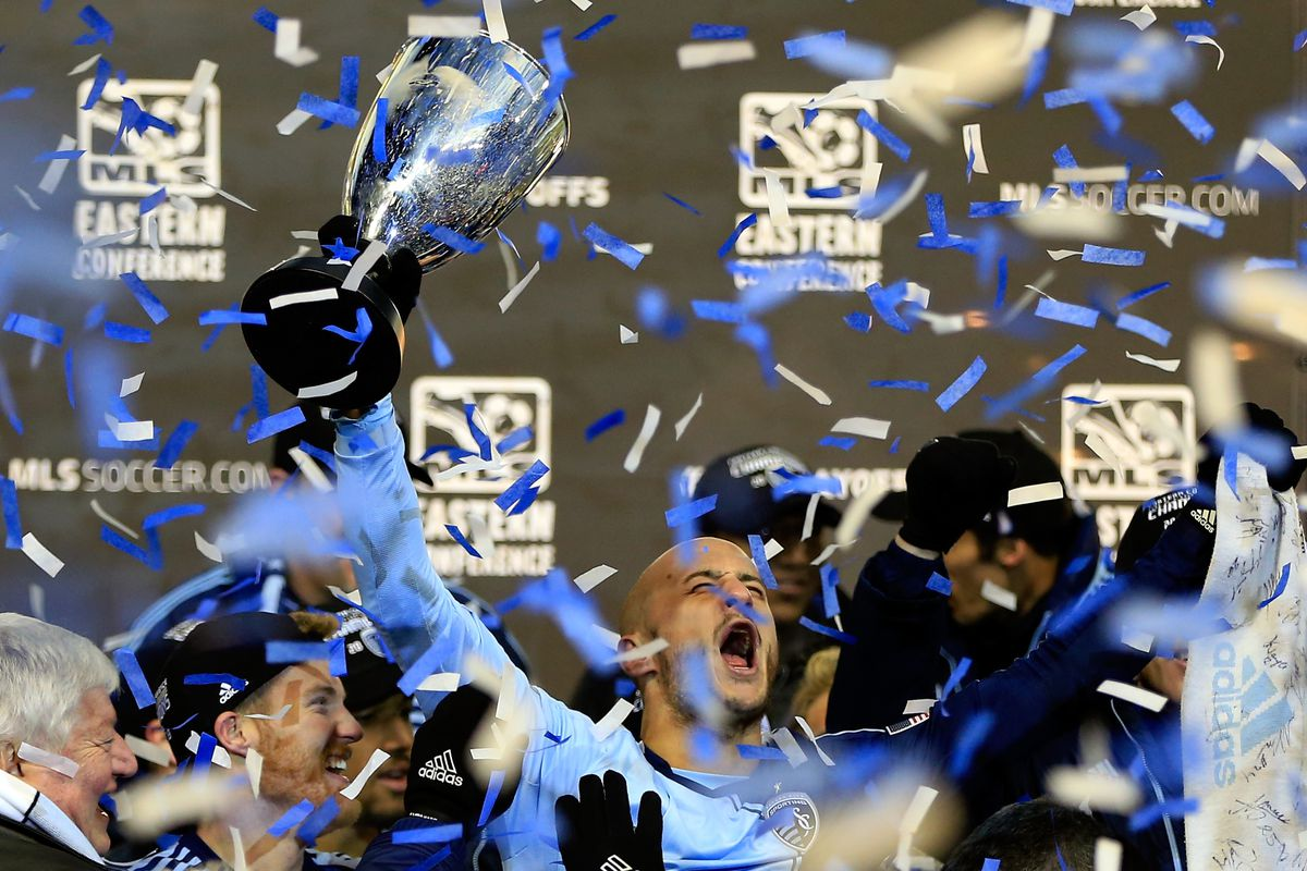 Sporting KC won the Eastern Conference Championship and is headed to MLS Cup