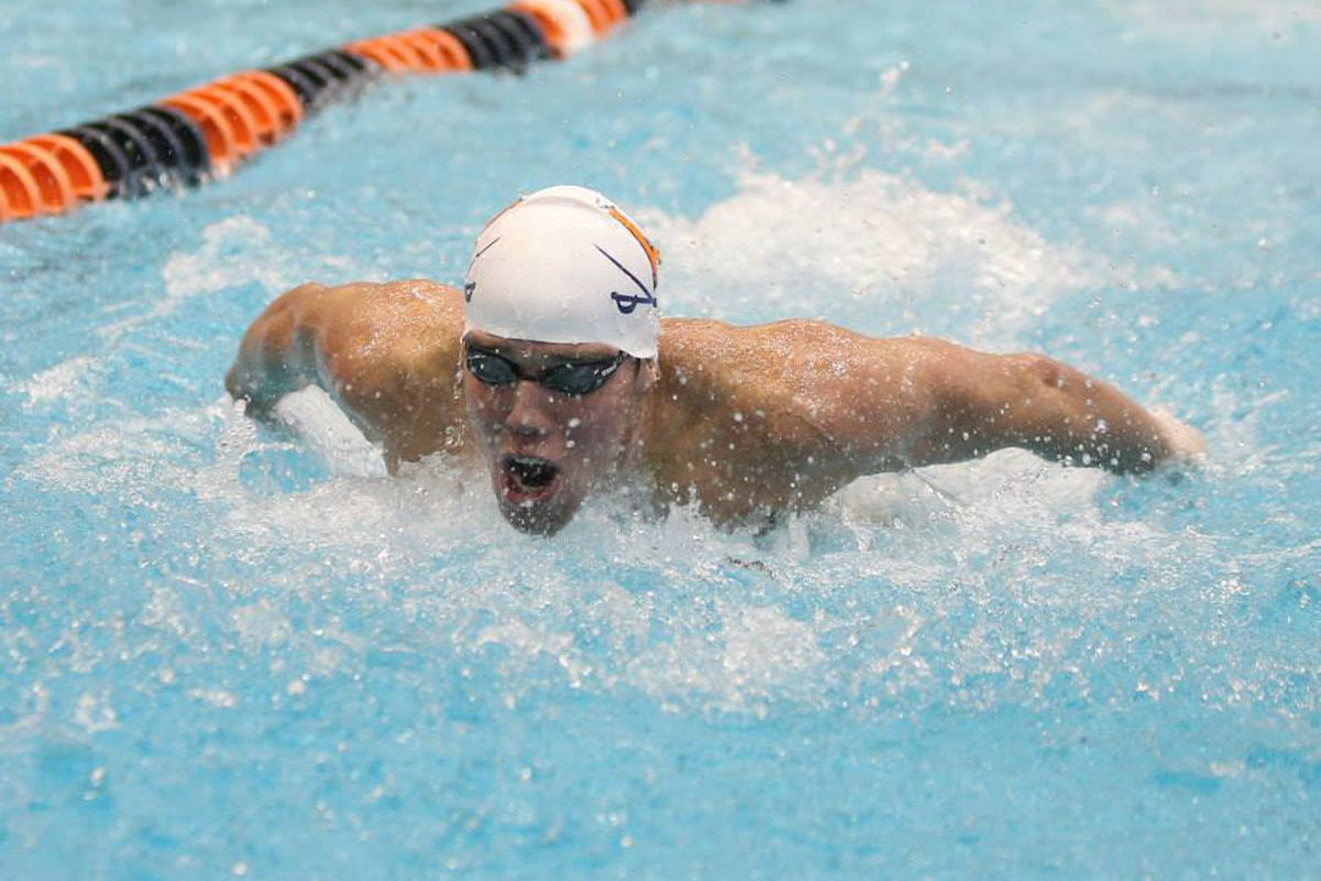 Parker Camp is a swimmer at the University of Virginia