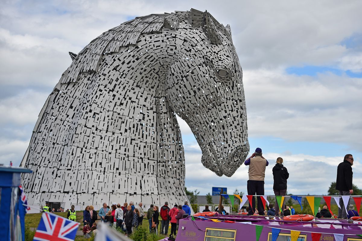 Official Opening of The Kelpies Equine Sculptures
